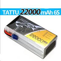 TATTU LiPo Battery 6S 22.2V 22000mAh 25C for DJI S1000 23 min