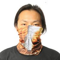 Free shipping!! Seamless Microfiber Headwear red fishTail Windproof Sport Head Band Head Scarf