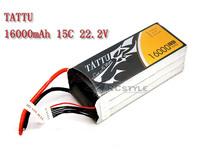 Genace TATTU 16000mah 6S 22.2v Lipo Battery for RC Octocopter/ DJI S800/ DJI S1000