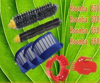 7pcs/set  Aero Vac Filter kit for iRobotRoomba 600 Series 620 630 650 660 Free Shipping