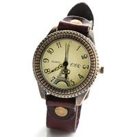 Hot quality Europen American style women dress quartz watches new fashion winter Eiffel printed wristwatch leather clock W1687