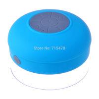 New Waterproof Mini Wireless Bluetooth Speaker Handsfree Mic Suction Shower