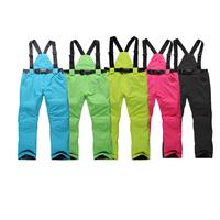 Outdoor Ski Pants men and women Winter Snowboard  Pants Warm Waterproof Sports  Trousers for women and men cheap sale