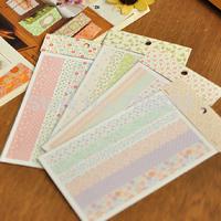 4 pcs/set,New fashion Korean Style decoration sticker,handmade flower series stickers,stationery wholesale(tt-974-1)