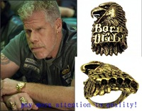 Vintage Eagle Ring Sons Ring Sons Of Anarchy For Clay Born Wild Ring US Size 8/ 9 /10 / 11 / 12 Rings Men Jewelry