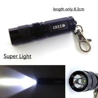 1pc Super Light Mini CREE XPE LED Flashlight by 300 Lumens 3 Mode 1*AA Battery + Free Shipping
