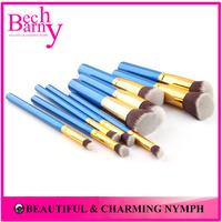 10 PCS Makeup Brush Set Professional Makeup Tools Synthetic Hair Make Up Brushes Fashion Cosmetics Brush