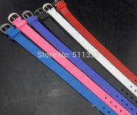 100pcs/lot 10mm Silicone wristband bracelet fit for 10mm diy slide letters