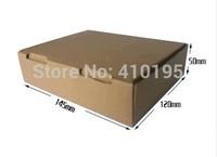 HIGH QUALITY! Wholesale Free shipping 14.5*12*5cm 50pcs/lot fashion corrugated board box,mailing packing box