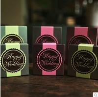2014 free shipping new cute fashion europec candy favor hocolate metal wedding door gift box