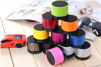 Free shipping S10 Colorful Wireless Mini Speaker Bluetooth Speaker with MIc For iPhone 5 HTC Samsung S4 I9500 Mobile 50pcs/lot