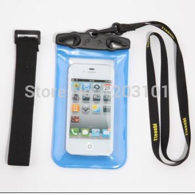 surfing waterproof cell phone bag fishing water proof mobile phone bag paddling phone bag(China (Mainland))