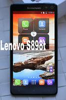 New 2014 lenovo S898t lenovoS898t 5.3 inch IPS 1280x720 pixels MTK6589t Quad Core 1.5GHz 1G 8GB 2.0 mega 13.0 mega dual sim