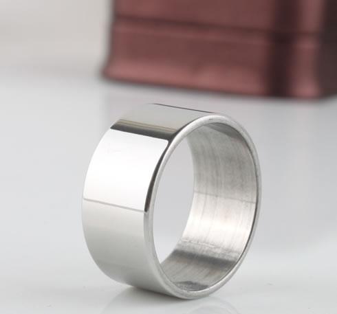 Wide paintless titanium ring pinky ring nanjie accessories(China (Mainland))