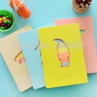 Free shipping ! Cartoon animal design series notebook,good quality notepad,wholesale price(tt-950)