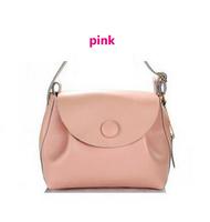 New Fashion women's bags Women Leather Handbag Genuine Leather Women Messenger Bag Leather Shoulder Bag Cute Button Bag M109