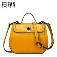 2014 vintage candy color one shoulder cross-body bag small mini handbag genuine leather bag leather bag