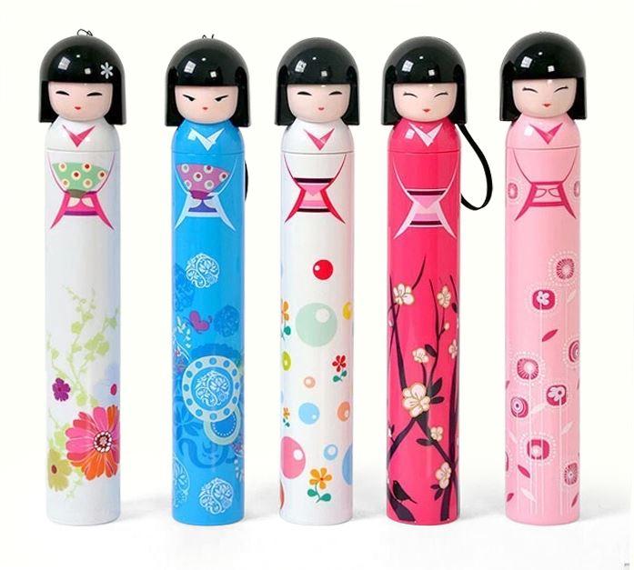 Genuine fresh folding umbrella UV umbrella male creative super sun sun umbrellas Ms. Child (China (Mainland))