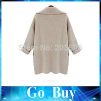Free shipping 610241 Ladies knitted shawl cardigan sweater coat cardigan feminino com renda cashmere wool sweater women