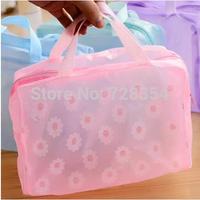 Women cosmetic bag organizer Transparent makeup case Waterproof travel wash beauty case storage bags B211