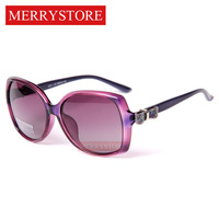 2014 New Women Brand Designer brand Luxury fashion polarized Sunglass women Butterfly Decoration Glasses Polaroid lens 5 Color