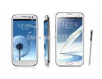 Original Samsung Galaxy Note II N7100 Unlocked cell Phone 5.5 Refurbished Free shipping