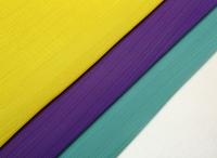 Korean female chiffon embroidered cotton slub silk organza fabric lace fabric