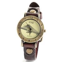 2014 new arrival fashion women dress watch Germany Kohlbrand Bridge face clock ladies casual quartz wristwatch W1691