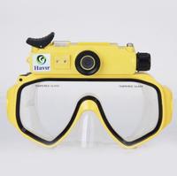 High Quality FK-909 HD 720P Under Water 30M Waterproof Diving Mask Camera Digital Video Recorder