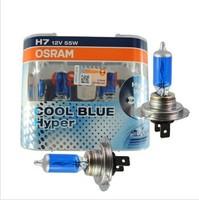 H7 12V 55W COOL BLUE HYPER White 5300K KELVIN BULB x 2 pcs