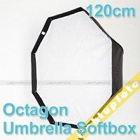 Umbrella Octagon Softbox Brolly Reflector Speedlite Studio 120cm PSCS1