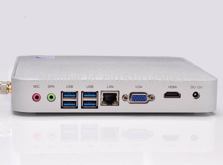 I3 mini pc fanless computer intel 3217u core dual 1.8GHz desktop intel NM77 Express chipset support HD video 1080p film(China (Mainland))