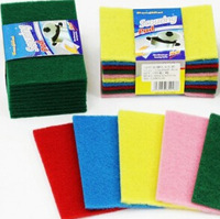 Color home dish towel microfiber cloth Articles for daily use dish cloth 4pcs/lot