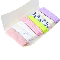 Hot Baby Kids Stuff 8pcs Soft Children Infant Bath Towel Cotton Washcloth Wipe Free shipping & Drop shipping