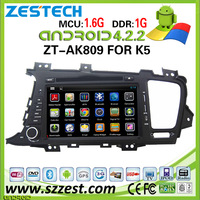 ZESTECH Android car dvd player for Kia K5 with Capacitive Touch Screen DVD GPS 3G Wifi