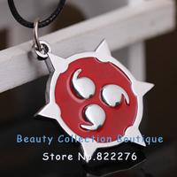 12pcs/lot Free shipping Anime Jewelry Naruto Kakashi Write Round Eyes Logo Necklace #AS020