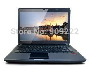free shipping cheap 14 inch 2G/320G laptop notebook computer, netbooks & laptops(China (Mainland))