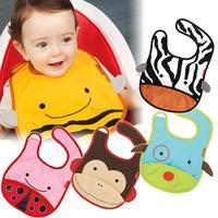Kid Baby Saliva Towel Girl Fad Cute Infant Lunch Bibs Toddler Cartoon Waterproof Free shipping & Drop shipping
