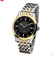 WOERDA  Automatic mechanical watch leisure men's watch waterproof watch of wrist of men watch back through business