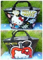 lunch bag 2PC Cute Hello kitty Perfect Girls Handbag