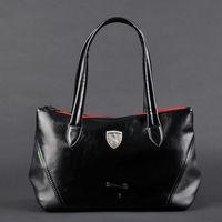 Black PU leather designer gym bag  sport bag for women,vintage sport handbag travel totes brand items GB184