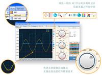 Free Shipping Rokettech BM102S PC Based USB Digital Oscilloscope, 20Mhz Bandwidth,50MSa/s