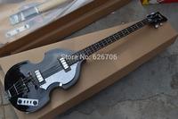black  Viola BASS 4 Strings Viola electric bass guitar Free shipping