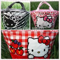 3PC Perfect Girls Handbag lunch bag Cute Hello kitty