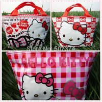 3PC Handbag Gift Hello kitty Tote Lunch Box Girls