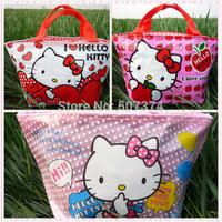 Hello kitty Tote Lunch Box 3PC Girls Gift Handbag