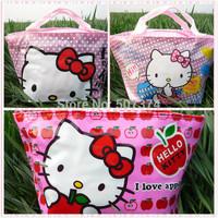 3PC Hello kitty Tote Lunch Box Girls Gift Handbag