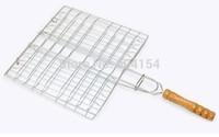 Barbecue net barbecue clip  BBQ tool grating 20.5x18.5cm,churrasco barbecue