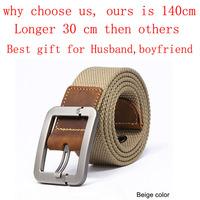 Men's Belts Fashion Casual men belt buckle canvas PU fashion canvas belt for men,drop shipping