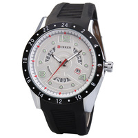 CURREN Brand Men Sports Watches Quartz Waterproof Fashion Casual Wristwatches With Calendar Men's Watch Free Shipping